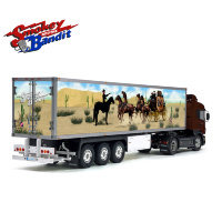 Tamiya 56319 56302 Reefer Box Trailer SMOKEY and THE BANDIT Style Side Decals Stickers Kit