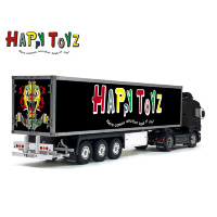 Happy Toyz Maximum Overdrive Movie Green Goblin Tamiya 56319 56302 Reefer Box Truck Trailer Decals Stickers Kit