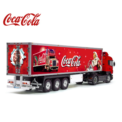 Coca-Cola Christmas Tamiya 56319 56302 Reefer Semi Box Trailer Side Decals Stickers Kit