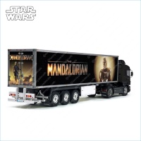 Tamiya 56319 56302 The Mandalorian Movie Trailer Reefer Semi Box Huge Side Decals Stickers Kit