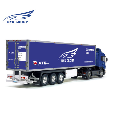 Tamiya 56319 56302 NYK Line Group Trailer Reefer Semi Box Huge Side Decals Stickers Set