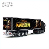Tamiya 56319 56302 Star Wars The Mandalorian Movie Trailer Reefer Semi Box Huge Side Decals Stickers Kit