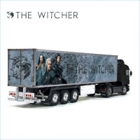 Tamiya 56319 56302 The Witcher Movie Trailer Reefer Semi Box Huge Side Decals Stickers Kit