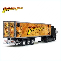 Tamiya 56319 56302 Indiana Jones Movie Trailer Reefer Semi Box Huge Side Decals Stickers Kit