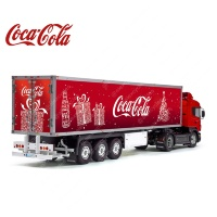 Tamiya 56319 56302 Coca-Cola Christmas Original Reefer Semi Box Trailer Big Side Decals Stickers Kit