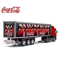 Tamiya 56319 56302 Coca-Cola Boxes Reefer Semi Box Trailer Big Side Decals Stickers Set
