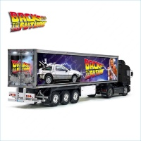 Tamiya 56319 56302 Back To The Future Movie Trailer Reefer Semi Box Huge Side Decals Stickers Kit