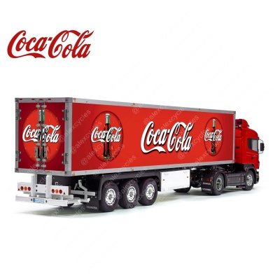 Tamiya 56319 56302 Coca-Cola Bottles Reefer Semi Box Trailer Big Side Decals Stickers Set