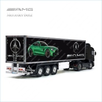 Tamiya 56319 56302 Mercedes-Benz AMG Trailer Reefer Semi Box Huge Side Stickers Decals Set