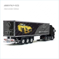 Tamiya 56319 56302 AMG Mercedes-Benz Trailer Reefer Semi Box Huge Side Stickers Decals Kit