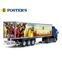 Foster's Australian Beer Tamiya 56319 56302 Trailer Reefer Semi Box Huge Side Decals Stickers Kit