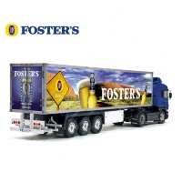 Foster's Gold Australian Beer Tamiya 56319 56302 Trailer Reefer Semi Box Huge Side Decals Stickers Kit