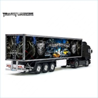 Tamiya 56319 56302 The TRANSFORMERS Movie Trailer Reefer Semi Box Huge Side Decals Stickers Kit