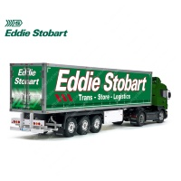 Eddie Stobart Trans Store Logistics Tamiya 56319 56302 Trailer Reefer Semi Box Huge Side Decals Stickers Kit