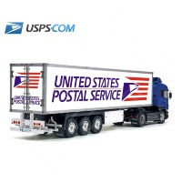 Tamiya 56319 56302 USPS USA National Post Trailer Reefer Semi Box Huge Side Decals Stickers Kit
