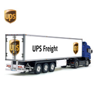 Tamiya 56319 56302 UPS Freight USA Post Trailer Reefer Semi Box Huge Side Decals Stickers Kit