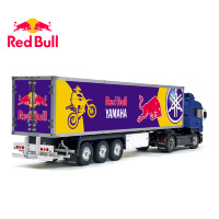Tamiya 56319 56302 RedBull Yamaha Energy Drink Trailer Reefer Semi Box Huge Side Decals Stickers Set