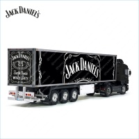 Tamiya 56319 56302 Jack Daniel's USA Number 1 Whiskey Trailer Reefer Semi Box Huge Side Decals Stickers Kit
