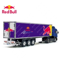 Tamiya 56319 56302 RedBull Energy Drink Racing Trailer Reefer Semi Box Huge Side Decals Stickers Set