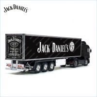 Tamiya 56319 56302 Jack Daniel's USA Number 1 Whiskey in Australia Trailer Reefer Semi Box Huge Side Decals Stickers Kit