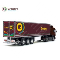 Tamiya 56319 56302 UK Post Gregory Delivering Winners Trailer Reefer Semi Box Huge Side Decals Stickers Set