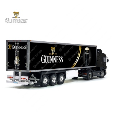 Tamiya 56319 56302 Guinness Beer Trailer Reefer Semi Box Huge Side Decals Stickers Kit