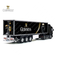 Tamiya 56319 56302 Guinnes is Good For You Beer Trailer Reefer Semi Box Huge Side Decals Stickers Kit