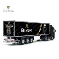 Tamiya 56319 56302 Guinness Diageo Beer Trailer Reefer Semi Box Huge Side Decals Stickers Set