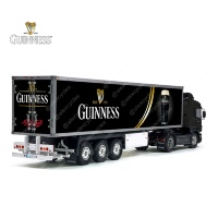 Tamiya 56319 56302 Arthur Guinness Diageo Beer Trailer Reefer Semi Box Huge Side Decals Stickers Set