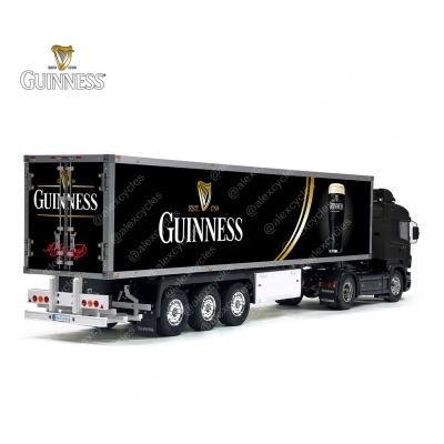 Tamiya 56319 56302 Arthur Guinnes Diageo Beer Trailer Reefer Semi Box Huge Side Decals Stickers Set
