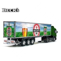 Tamiya 56319 56302 BECK'S BECKS Germany Beer Trailer Reefer Semi Box Huge Side Decals Stickers Kit