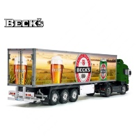 Tamiya 56319 56302 BECK'S Germany Beer Trailer Reefer Semi Box Huge Side Decals Stickers Kit