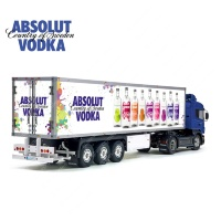 Tamiya 56319 56302 ABSOLUT Vodka Trailer Reefer Semi Box Huge Side Decals Stickers Kit