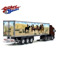 Tamiya 56319 56302 Smokey and the Bandit Movie Trailer Reefer Semi Box Huge Side Decals Stickers Kit