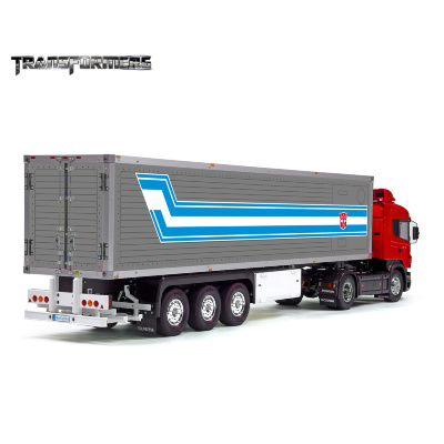 Tamiya 56319 56302 TRANSFORMERS Trailer Reefer Semi Box Huge Side Decals Stickers Kit