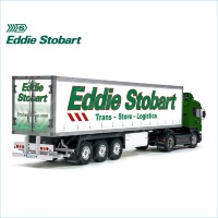 Tamiya 56319 56302 Eddie Stobart Trans Store Logistics Trailer Reefer Semi Box Huge Side Decals Stickers Set